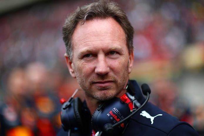 Teambaas Christian Horner van Red Bull.