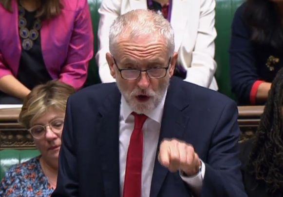 Labour-leider Jeremy Corbyn ziet vervroegde verkiezingen voorlopig niet zitten.