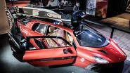 De eerste vliegende auto ter wereld ontdekt u in Antwerpen