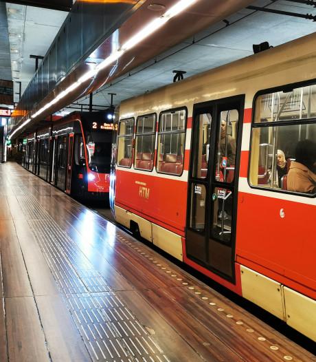 Lijnen 2, 3, 4 en 6 tijdelijk gestremd door defecte tram in Grote Markttunnel