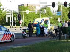 Politie zoekt scooterrijder die doorreed na aanrijding in Amersfoort