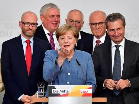 Merkel na overwinning: rechtse AfD wordt onze grote uitdaging