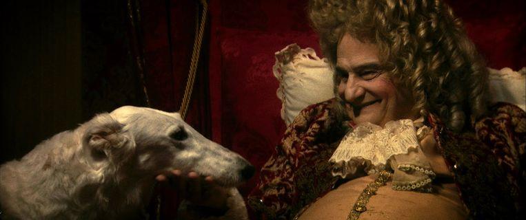 La mort de Louis XIV Beeld null