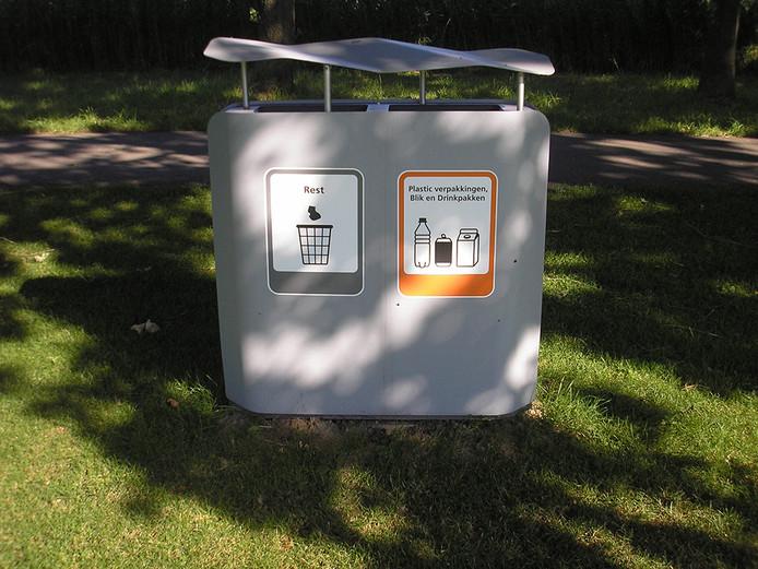 Afval scheiden kan al op het Landgoed Bredius aan het Brediuspad in Woerden (foto ter illustratie).