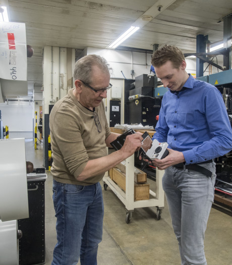 'Explosieve comeback' van Polaroid in Enschede