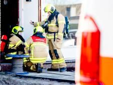 Brandweer rukt uit voor gaslek in voortuin woning Klaaswaal