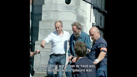 Ook aan het gerechtsgebouw van Dendermonde is gefilmd.