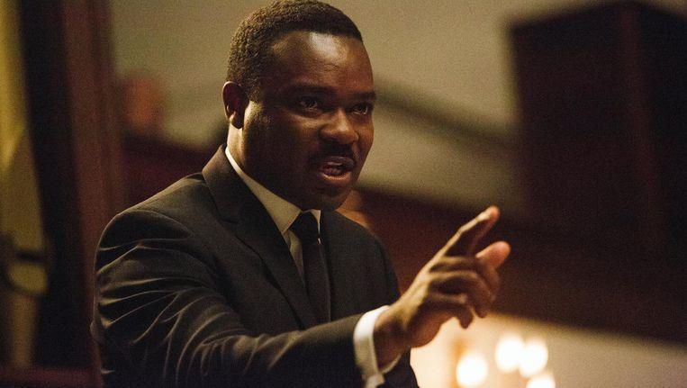 David Oyelowo als Dr. Martin Luther King in de biopic 'Selma'. Beeld ap