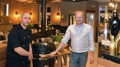 Vroeger de boerderij van zijn grootouders, nu staat Steve er zelf samen met Thomas in zijn eigen restaurant Bistro Boumme Patate