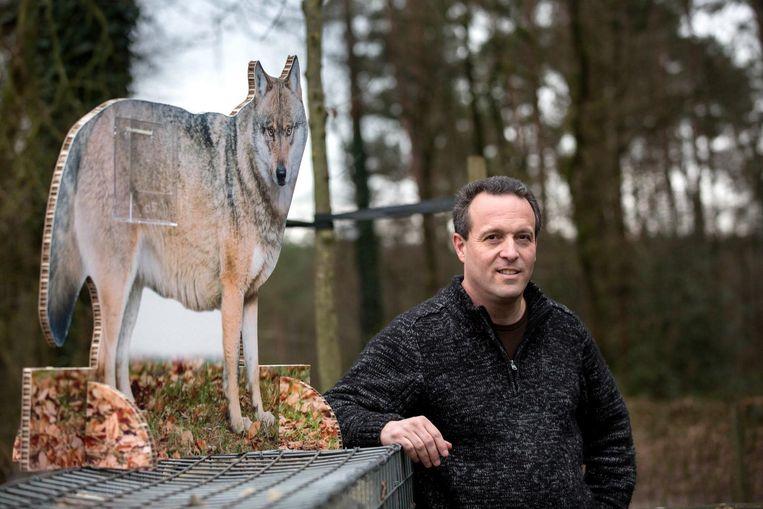 Jan Loos, oprichter van de website www.welkomwolf.be.