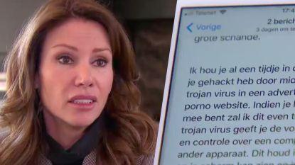 """Afpersers bedreigen Phaedra Hoste: """"Betaal 500 euro of masturbatievideo komt online"""""""