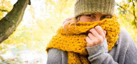 Het wordt een sjalen en mutsen-weekend: Zo koud is het sinds april niet meer geweest!