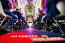 Onder belangstelling van de internationale pers en hoogwaardigheidsbekleders werden vorig jaar in de Grote Kerk in Breda de eerste drie etappes van de Vuelta 2020 gepresenteerd.