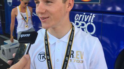 Toptalent Remco Evenepoel (18) vanaf 1 januari 2019 profrenner bij Quick-Step Floors, dat Team Sky de loef afsteekt