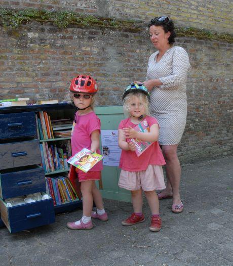 Uitstappen op kinderzwerfboekenstation Tilmanshofje  in Den Bosch om Otje te ontmoeten
