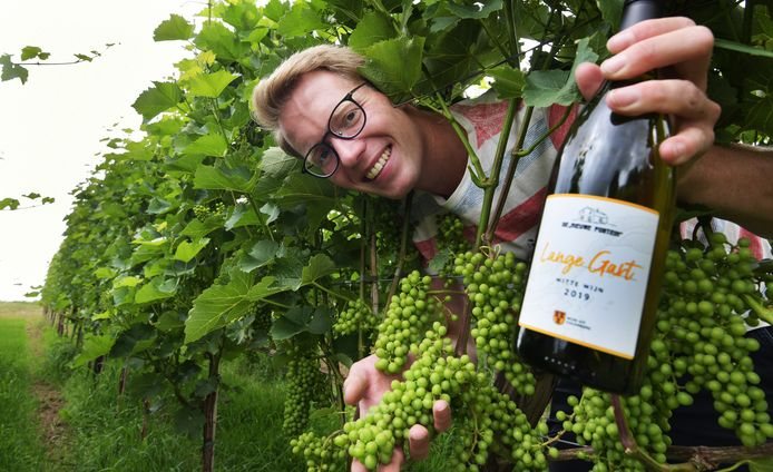 Sander Kroeze maakt wijn langs de Lek.