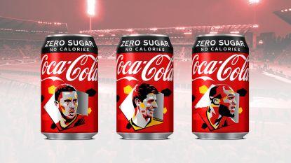 Coca-Cola pakt ondanks uitstel Euro 2020 toch uit met Eden Hazard & co op de verpakking