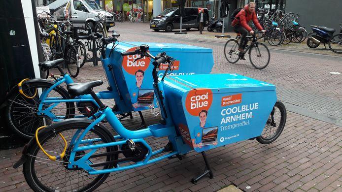 De winkel van Coolblue aan het Johnny van Doornplein in Arnhem gaat vrijdag 8 november open.