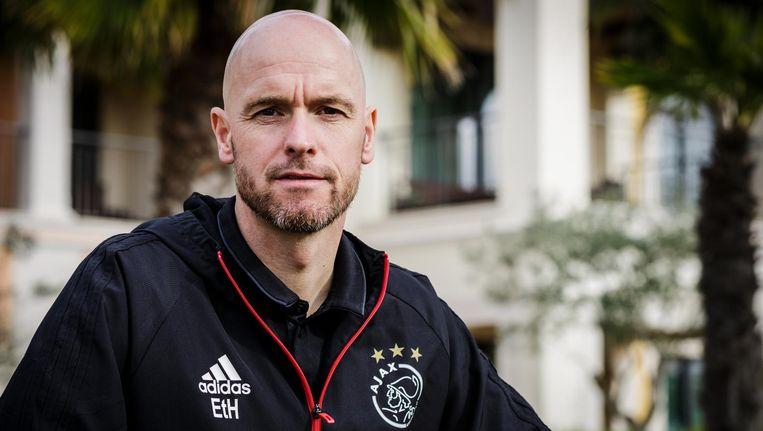 Ajax-trainer Ten Hag Beeld anp