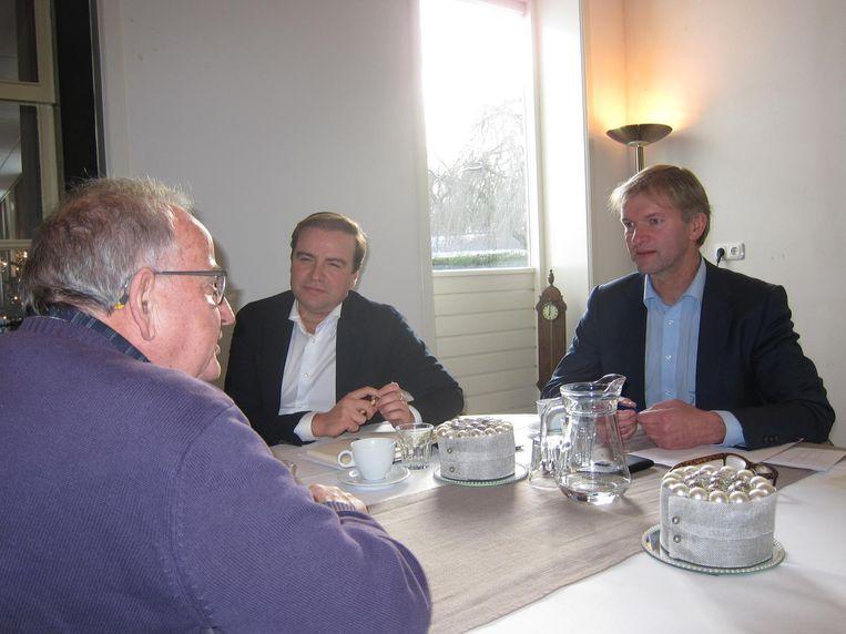 Scherpenkate, Azmani, en Von Martels (v.l.n.r) Beeld