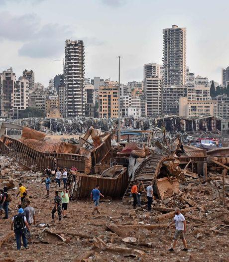 Beiroet in puin na gigantische explosie in haven, vijf Nederlanders gewond