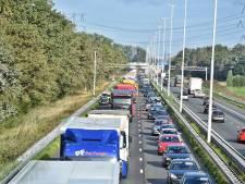 Fileleed in Brabant: uur vertraging tussen Tilburg en Eindhoven