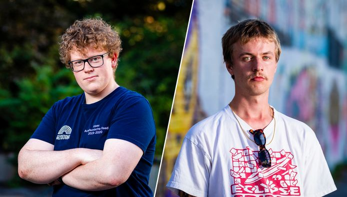 Klaas Collin (22) en Kobe Verhoeven (22).