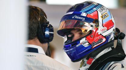 F1-team Williams kiest voor jonge Rus Sirotkin, Kubica wordt reserverijder