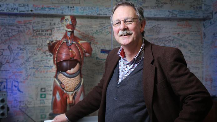 Hoogleraar anatomie Gert-Jan Kleinrensink.