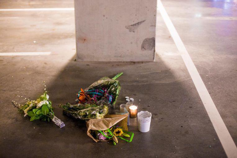 In een parkeergarage aan het Koningin Wilhelminaplein werd Djordy Latumahina neergeschoten Beeld Maarten Brante