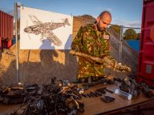 Gecrashte Duitse oorlogsjager bij Dalfsen had nog uitzonderlijk veel munitie aan boord: 'Levensgevaarlijk'