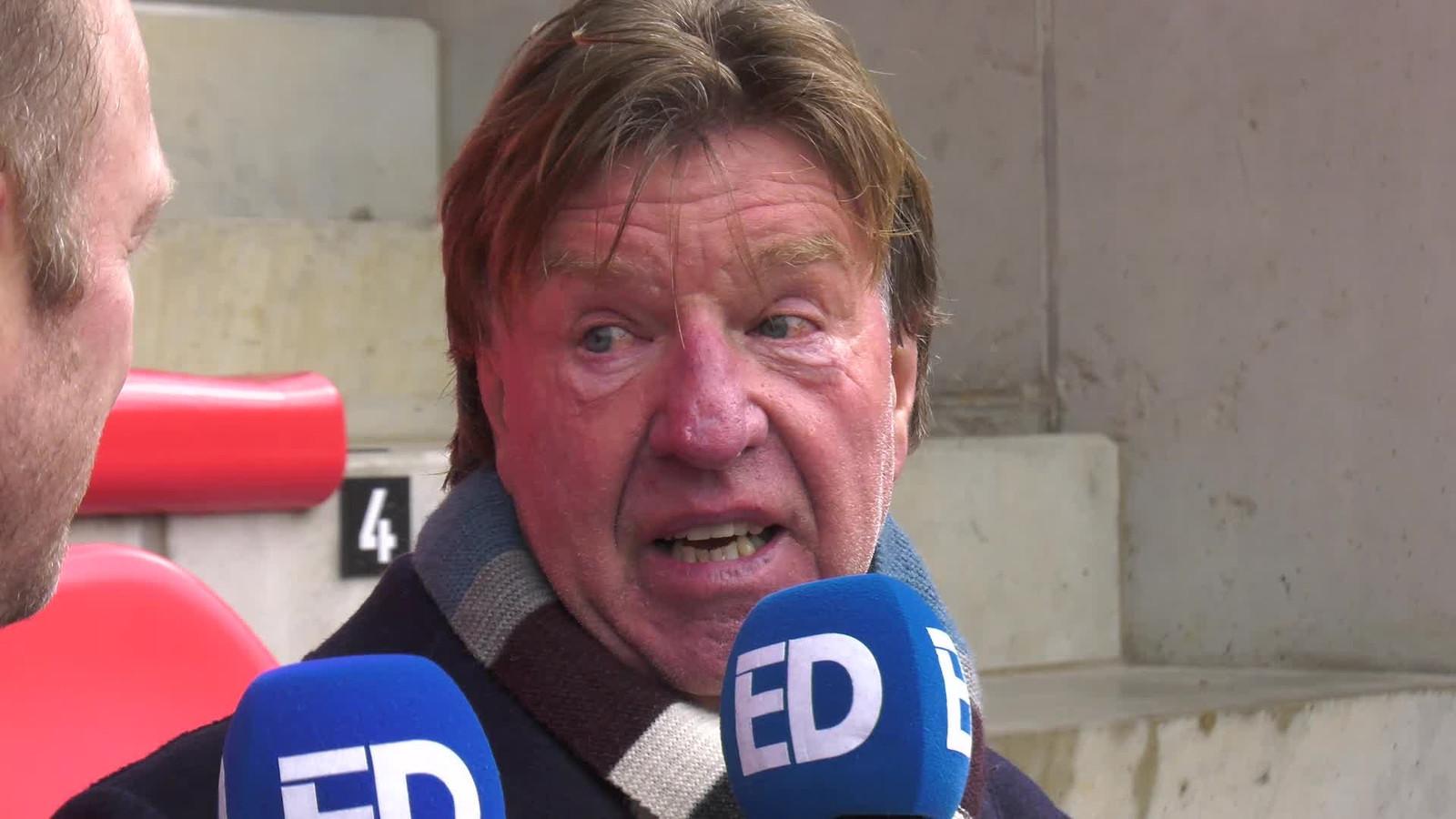 Aad de Mos staat PSV-watcher Rik Elfrink te woord.