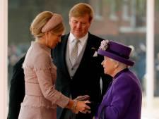 Willem-Alexander en Máxima in jaaroverzicht Buckingham Palace