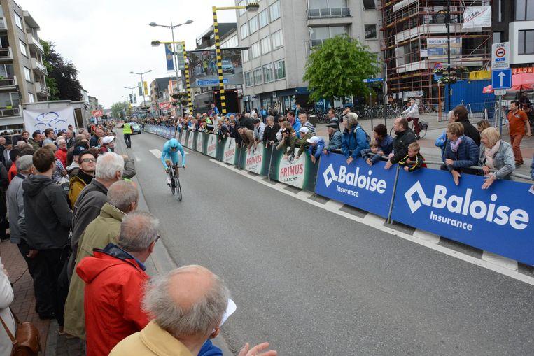 Na de proloog en start mag Beveren nu gastgemeente zijn voor de tijdrit van de Baloise Belgium Tour.