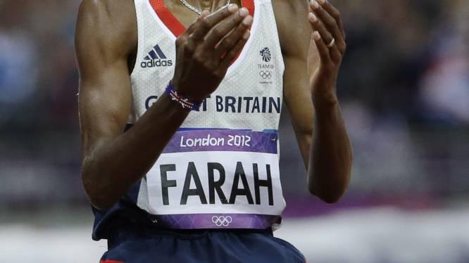 Mo Farah bekroont Britse topavond met goud op de 10.000 meter