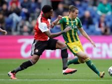 LIVE   Geertruida herstelt fout en zet Feyenoord naast ADO
