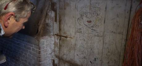 Wie maakte in de Tweede Wereldoorlog pikante tekeningen in een schuur op de Sprengenberg bij Haarle?