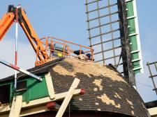 Nieuw dak voor Stadsmolen in Hulst