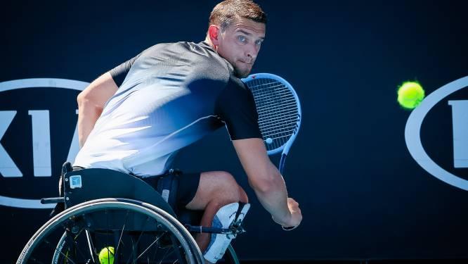 Rolstoeltennisser Gérard grijpt in enkel- én dubbelspel naast finaleplaats op Australian Open