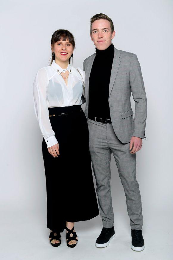 Stan Dewulf en partner Kayla
