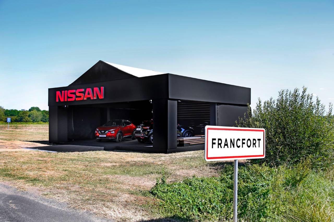 Nissan Juke-onthulling in Francfort.