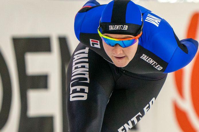 Lotte van Beek nog in actie namens TalentNED.