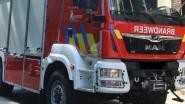 Chalet in Zandstraat vat vuur