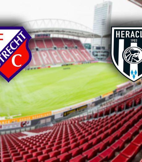 LIVE | Boekt FC Utrecht tegen Heracles de eerste thuiszege sinds eind oktober?