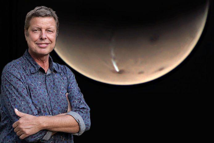 Freddy Nauta uit Lochem is gefascineerd door sterrenkunde. De laatste tijd is er weer nieuws over Mars, waar een mysterieuze pluim is opgedoken.