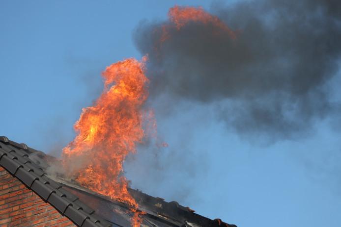 De zonnepanelen vlogen in brand