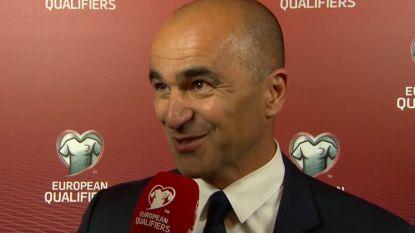 """Martínez: """"De prestatie van vandaag deed me veel plezier"""""""
