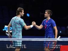 Koolhof en dubbelpartner lijken niet af te stoppen op ATP Finals