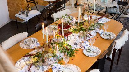 """Tips & tricks van Véronique Leysen: """"Een mooie feesttafel hoeft niet veel te kosten"""""""