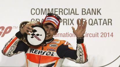 Marc Marquez (Honda) wint openingsmanche in MotoGP